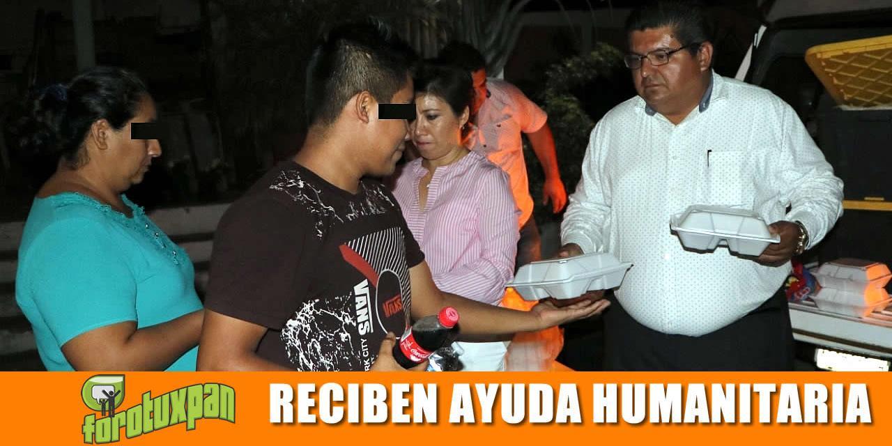 Gobierno Municipal brinda ayuda humanitaria a Centroamericanos
