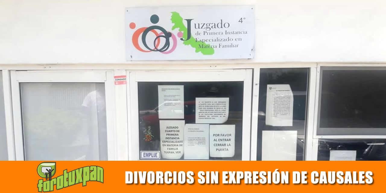 DIVORCIOS SIN EXPRESIÓN DE CAUSALES