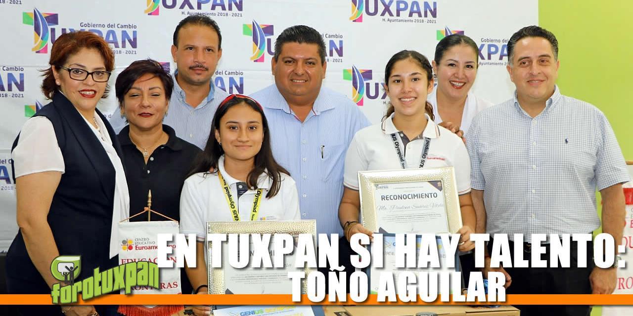 EN TUXPAN SI HAY TALENTO: TOÑO AGUILAR