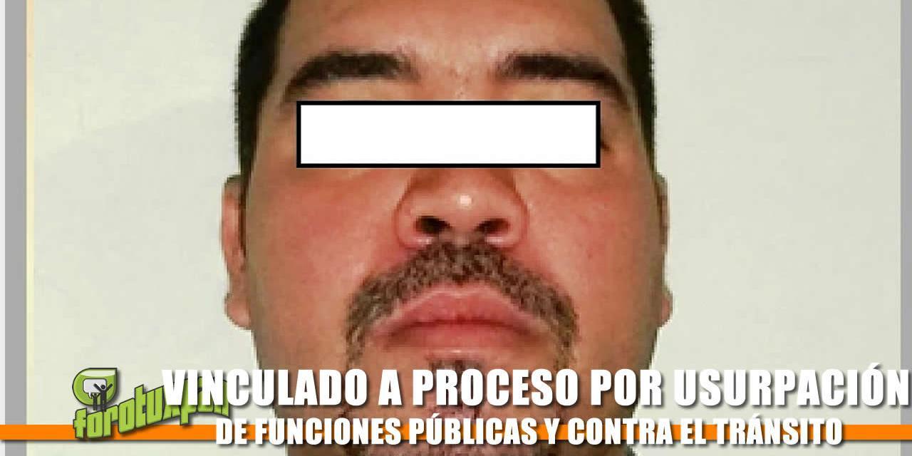 A PROCESO POR USURPACIÓN DE FUNCIONES PÚBLICAS