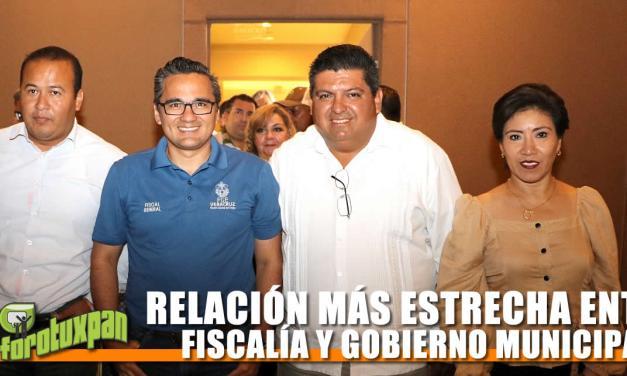 RELACIÓN MÁS ESTRECHA ENTRE FISCALÍA Y GOBIERNO MUNICIPAL