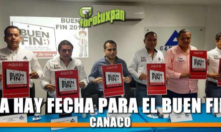 ¡Ya hay fecha para el BUEN FIN! : CANACO