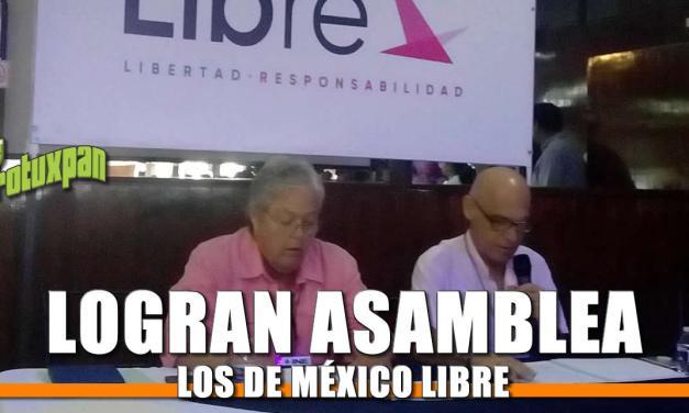 Consolidan Asamblea de México Libre, Todos por Veracruz se queda corto
