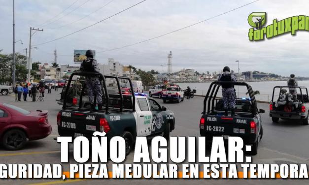 Seguridad, pieza medular en esta temporada: Toño Aguilar