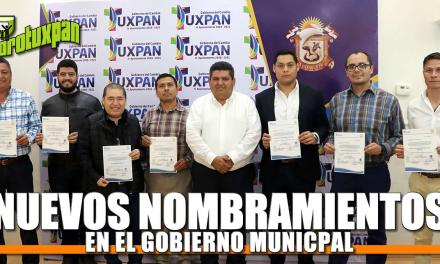 Nuevos nombramientos en Gobierno Municipal
