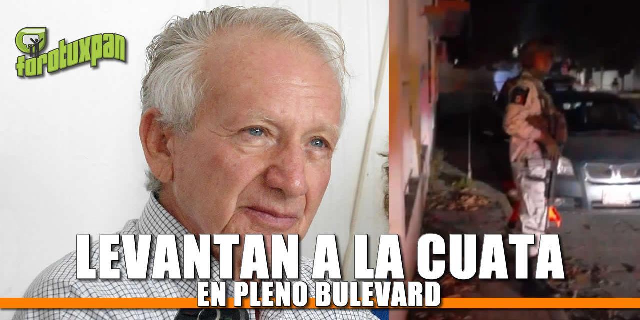 LEVANTAN a la CUATA EN EL BULEVARD