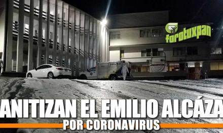 SANITIZACIÓN DEL HOSPITAL CIVIL EMILIO ALCAZAR