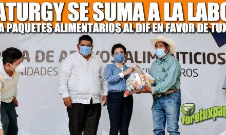 NATURGY SE SUMA A LA LABOR DEL AYUNTAMIENTO: DONA PAQUETES ALIMENTARIOS EN FAVOR DE LAS FAMILIAS MÁS DESPROTEGIDAS