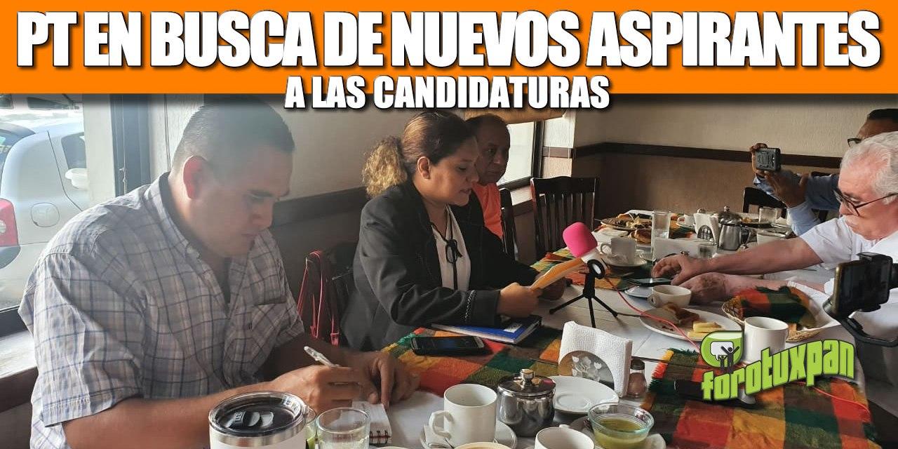 PT EN BUSCA DE NUEVOS ASPIRANTES A LAS CANDIDATURAS