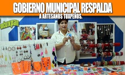 GOBIERNO MUNICIPAL RESPALDA A ARTESANOS TUXPEÑOS.