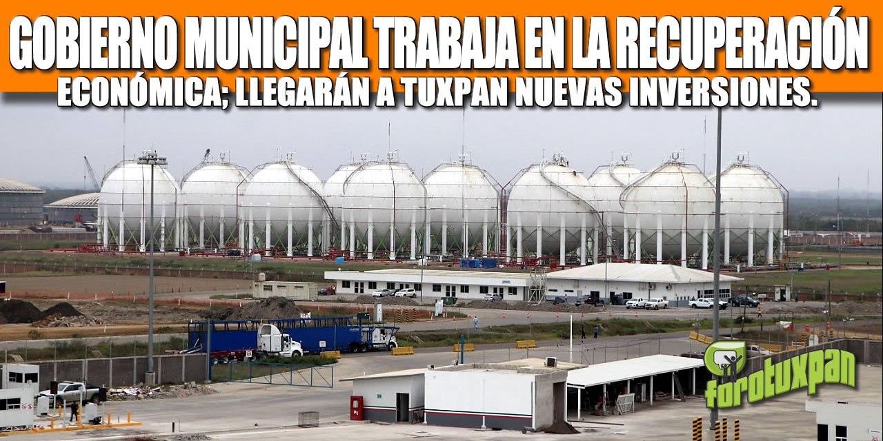 GOBIERNO MUNICIPAL TRABAJA EN LA RECUPERACIÓN ECONÓMICA; LLEGARÁN A TUXPAN NUEVAS INVERSIONES.