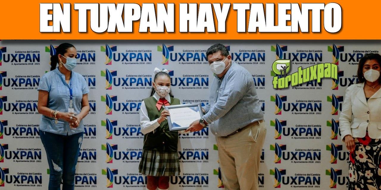 En Tuxpan hay talento y el Gobierno del Cambio apoya la calidad educativa