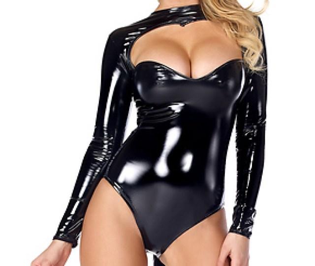 Feline Fetish Sexy Black Cat Costume