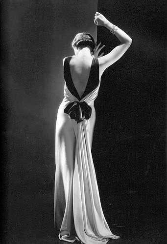 Vestido década de 30
