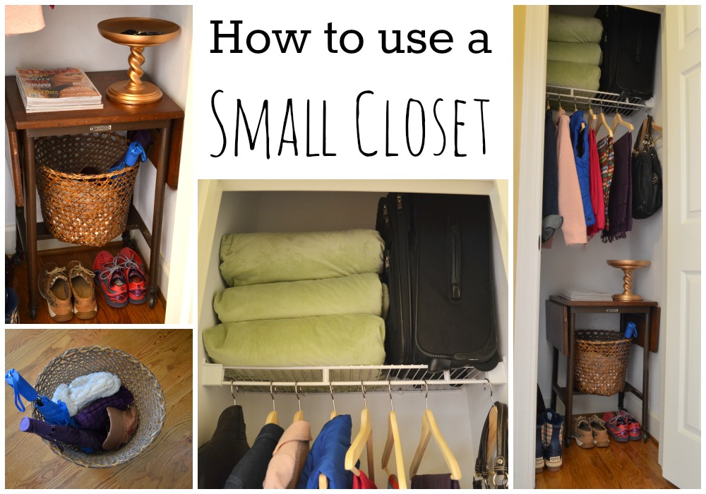 How To Use A Small Closet