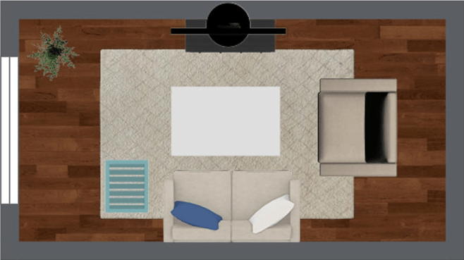 4 Furniture Layout Floor Plans For A Small Apartment Living