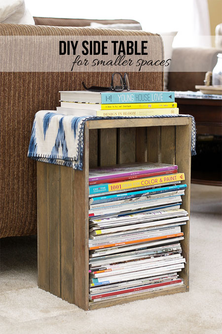 diy side table that s perfect for your
