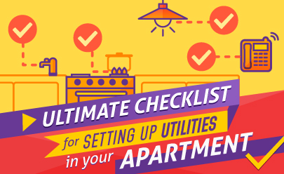 Ultimate Checklist For Setting Up Utilities In Your New Apartment