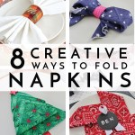 8 Creative Ways To Fold Napkins For Year Round Entertaining Tips Forrent