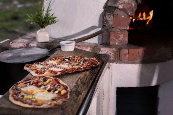 Semestra i ForRest och gör er egen pizza