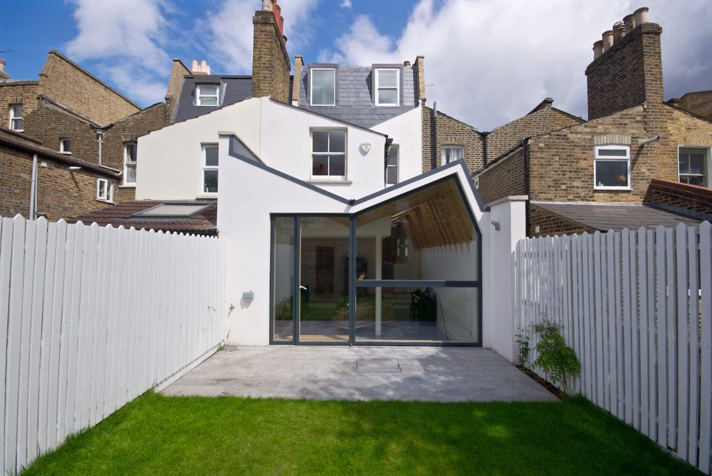 Our nonconformist house extension is shortlisted for Don't Move, Improve! 2016