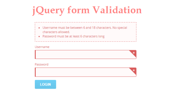 Best 6 Effective jQuery Form Validation Techniques ...