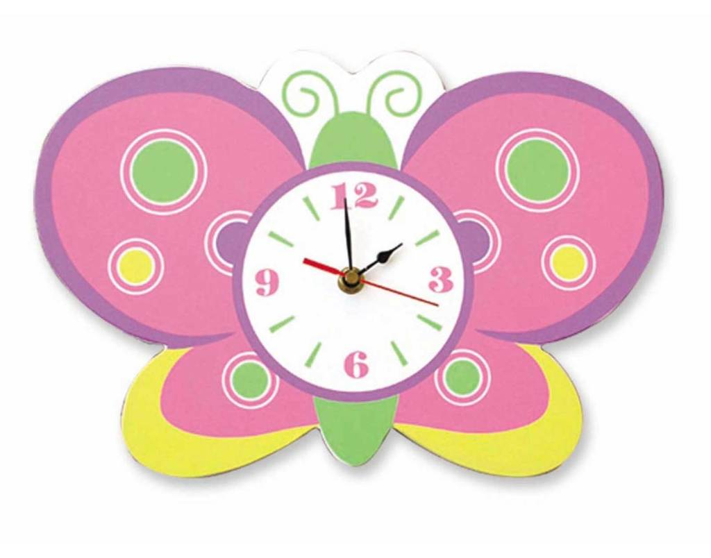 kids-butterfly-wall-clocks