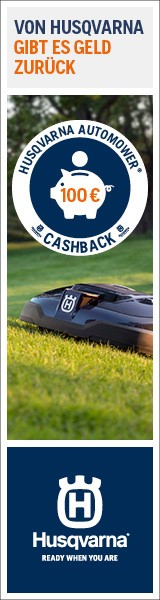 Husqvarna Cashback für Automower
