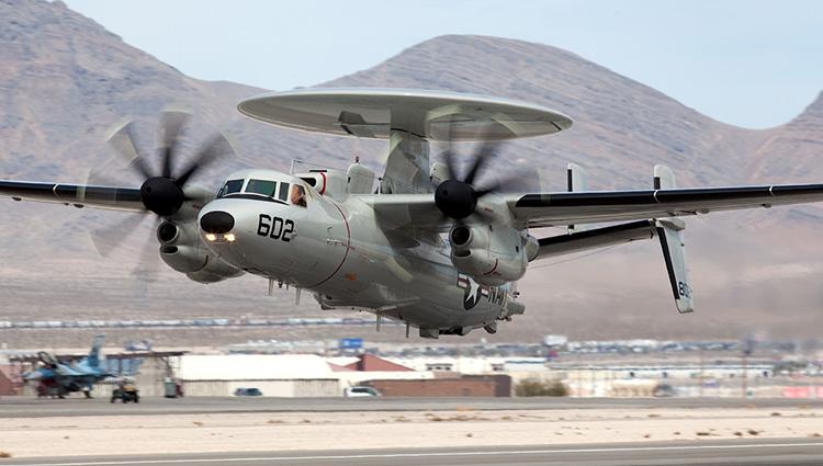 Northrop Grumman udvikler næste japanske E-2D Hawkeye