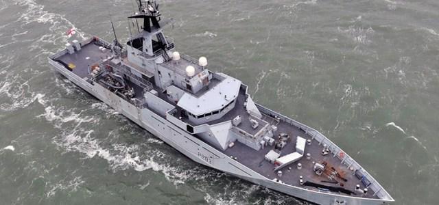Storbritannien bestiller to River-class offshore patruljefartøjer