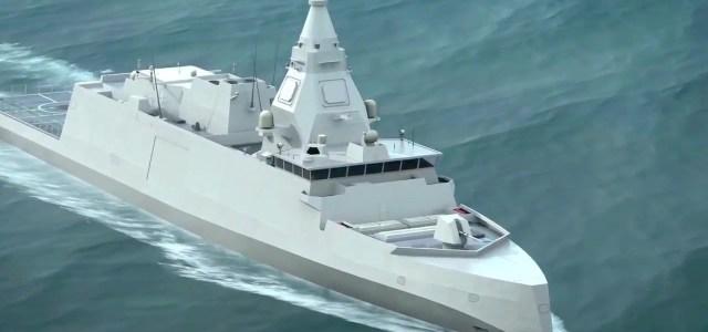 DCNS skal bygge fregatter til den franske flåde
