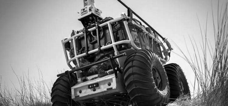 Roboteams ubemandede logistiskkøretøj Probot er klar