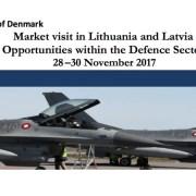 Markedsbesøg til forsvarssektorerne i Letland og Litauen