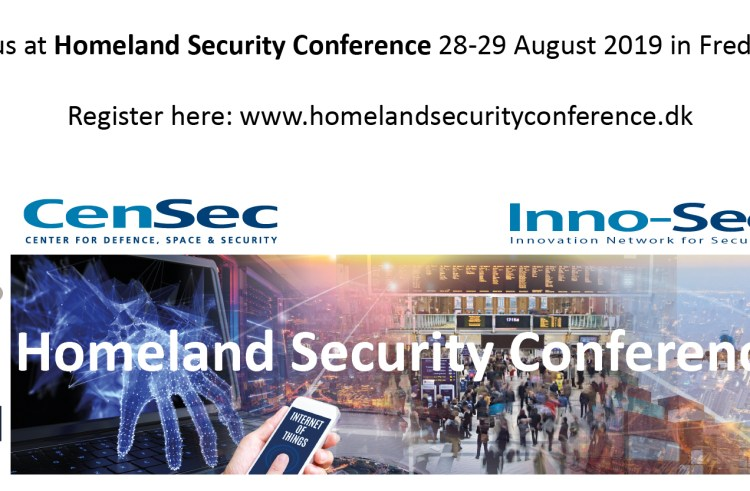 CenSec inviterer til Homeland Security Conference 2019 (28.-29. aug)