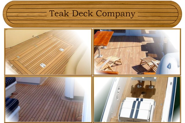 Teak Decking and Flooring Products