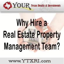 Fort Worth Texas Real Estate Property Management