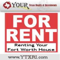 Renting Your Fort Worth House