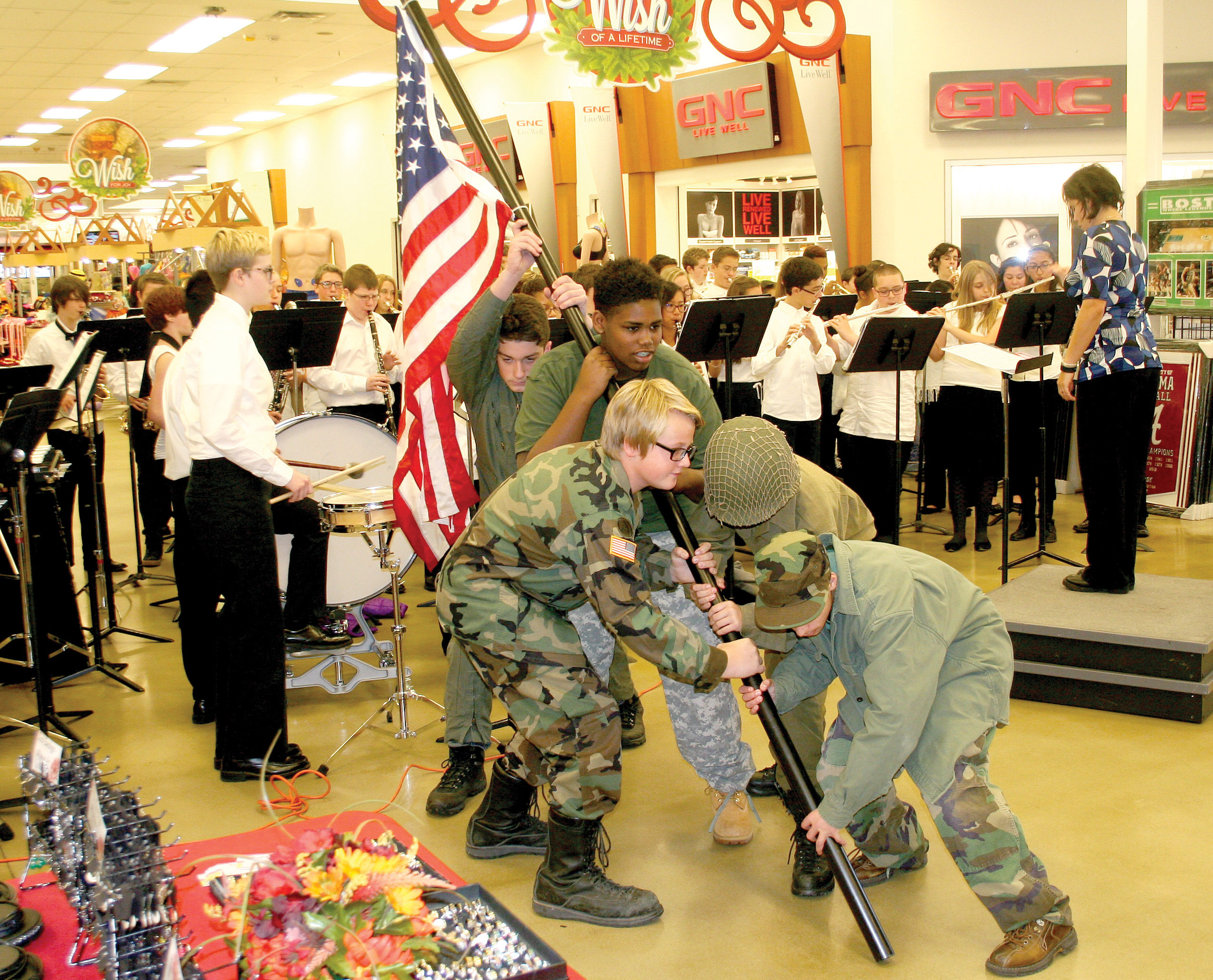 Students Perform For Veterans Day Fort Carson Mountaineer