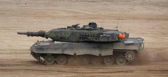 Leopard 2A5 - foto via MD Polônia