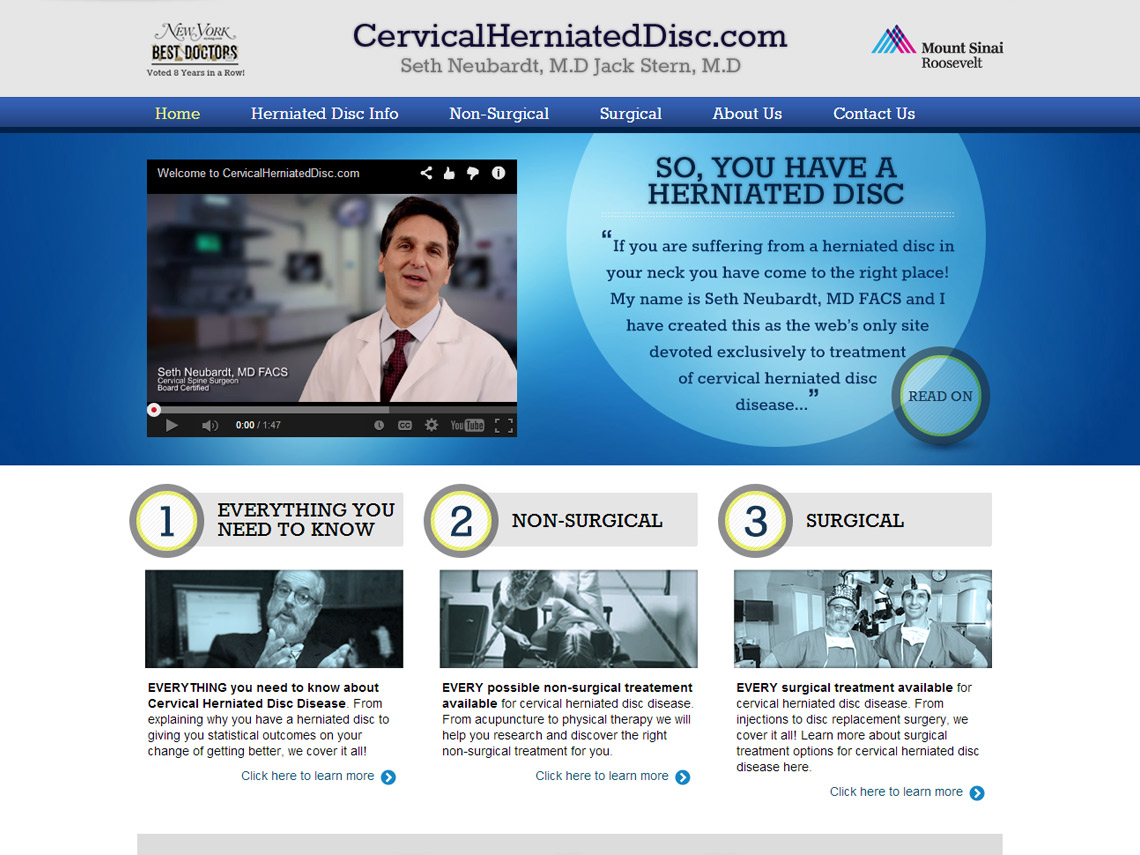 Case Study: Cervical Herniated Disc