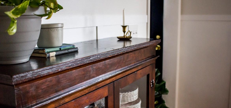Antique Furniture Challenge: How I Refinished It without Stripping It - Antique Furniture Challenge: How I Refinished It Without Stripping