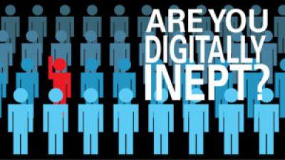 Vistage Speaker presentation - Are you digitally inept?