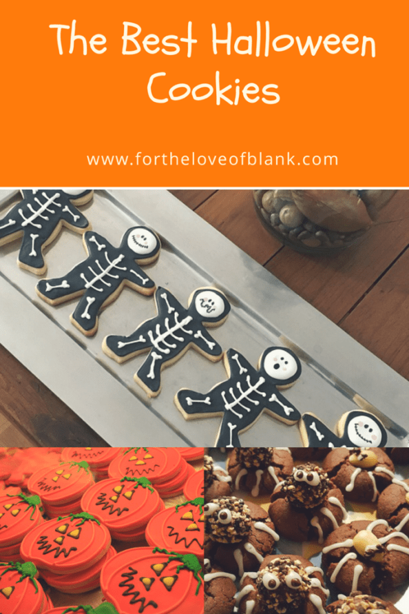 A Round up of all my favorite Halloween Cookie recipes!