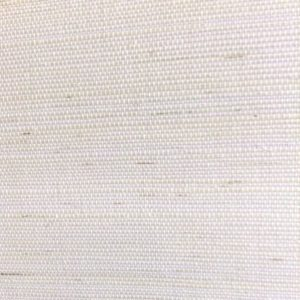 White Grasscloth Wallpaper, sample, white, linen-like texture