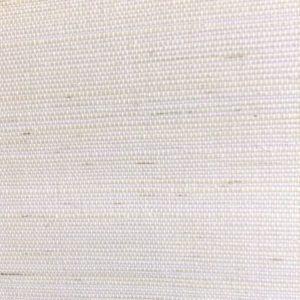 White Grasscloth Wallpaper, sample, white, linen-like texture