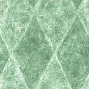 Green Lattice Diamond Wallpaper Textured UK BR75853 D/Rs