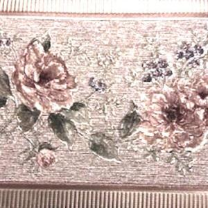 Vintage Style Floral Wallpaper Border Pearlized 7334-67 FREE Ship