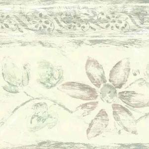 Kitchen Vintage Wallpaper Border Grapes Floral BY2335B FREE Ship