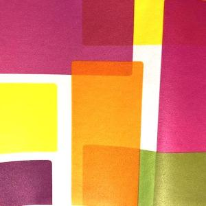 Modern Geometric Wallpaper Border Pink Orange NGB76810N FREE Ship