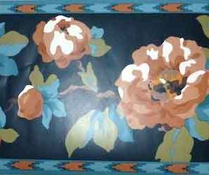 Southwestern Floral Vintage Wallpaper Border Waverly 561691 Free Ship